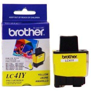 Tinta Brother LC41Y Amarilla