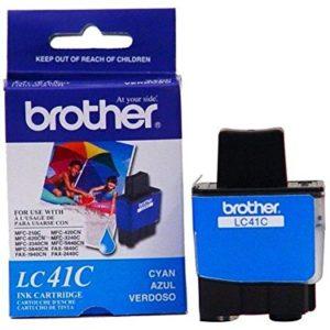 Tinta Brother LC41C Cian