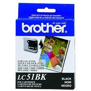 BROTHER Tinta Negra LC-51BK