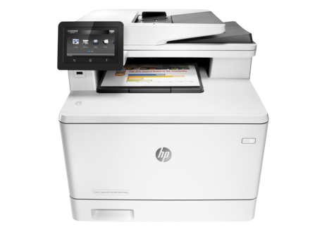 HP Impresora Multifunción Color LaserJet Pro M477fdw