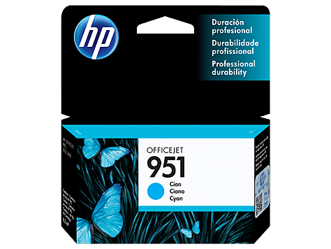 HP Tinta 951 CYAN CN050AL