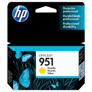 HP Tinta 951 YELLOW CN052AL