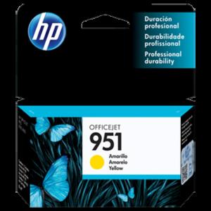 HP Tinta 951 YELLOW CN052AL