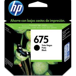 HP Tinta 675 Negro CN690AL