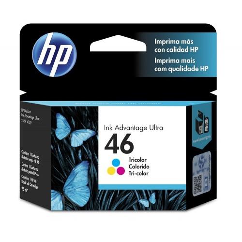 HP Tinta 46 Tricolor CZ638AL