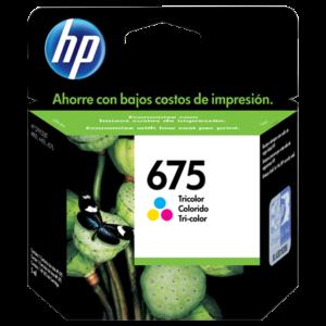 HP Tinta 675 Tricolor CN691AL