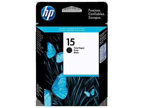 HP Tinta 15 Negra C6615DL
