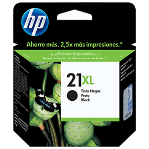 HP Tinta 21XL Negra C9351CL
