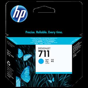 HP Tinta 711 Cyan CZ130A