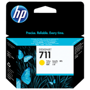 HP Tinta 711 Amarillo CZ132A
