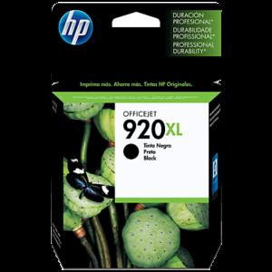 HP Tinta 920XL Negro CD975AL