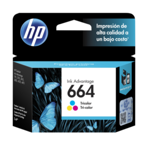 HP Tinta 664 Tricolor Advantage F6V28AL