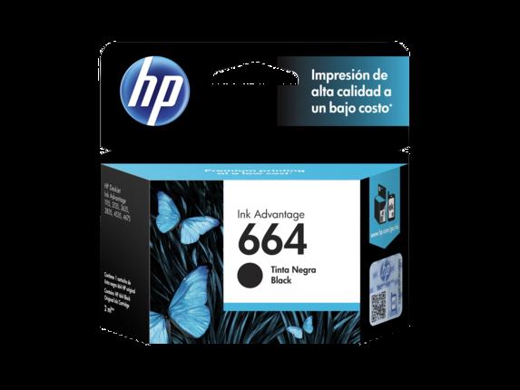 HP Tinta 664 Negro Advantage F6V29AL