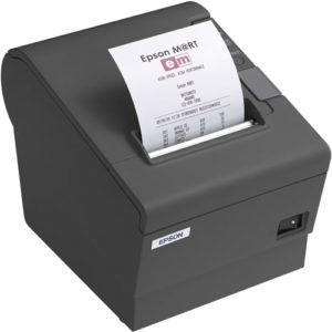Epson Impresora Termica FISCAL TM-T88 IV Serial Negra