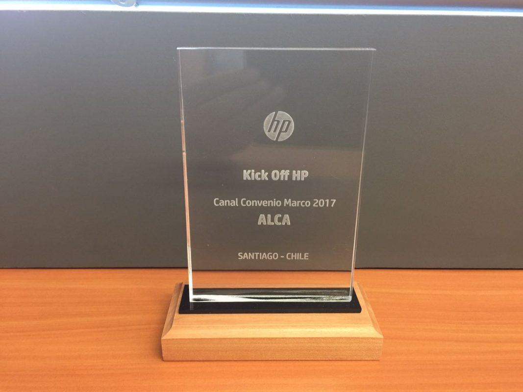 HP Kick Off Canal convenio marco y suministros 2017 - Alca Computación