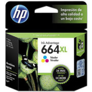 HP Tinta 664XL Tricolor F6V30AL