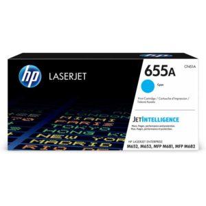HP Toner 655A Cyan CF451A