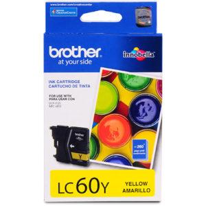 BROTHER Tinta LC-60Y Amarilla