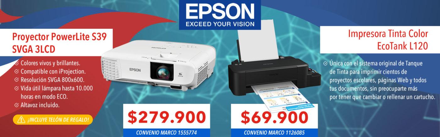 epson powerlite proyector s39