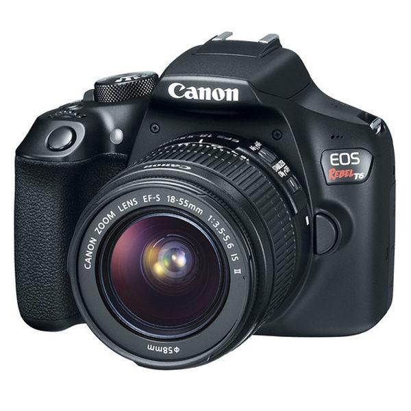 Canon Camara Fotografica EOS REBEL T6 EF-S 18-55MM