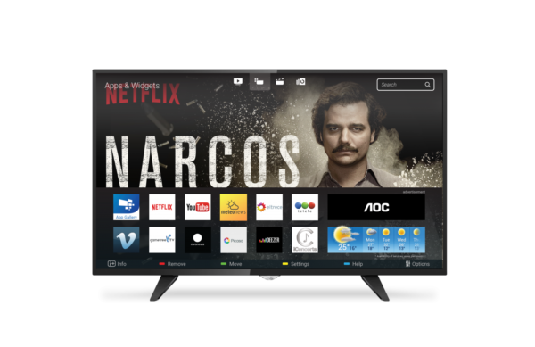 AOC Televisor LED 43 Full HD Smart TV LE43S5970
