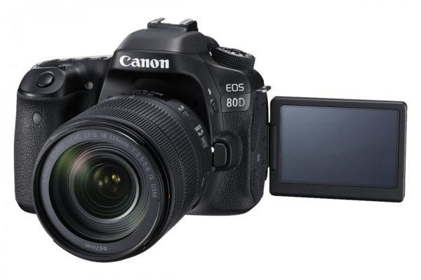 Canon Camara Fotografica EOS 80D KIT 18-135 MM