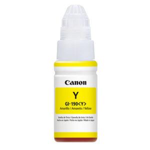 CANON Tinta GI-190 Amarillo