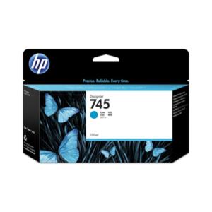 HP Tinta 745 de 130 ml Cyan F9J97A