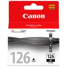 CANON Tinta CLI-126 Negra 4561B001