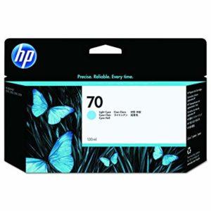 HP Tinta 70 de 130 ml Cyan Claro C9390A