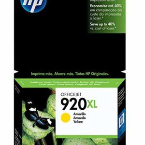HP Tinta 920XL Amarilla CD974AL