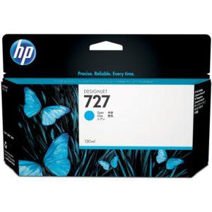 HP Tinta 727 de 130 ml Cyan B3P19A