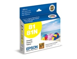 Epson Tinta Stylus Photo 81 Amarilla T081420-AL