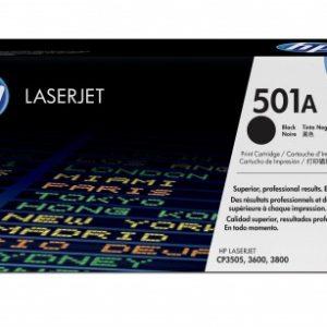 HP Toner 501A Negro Q6470A