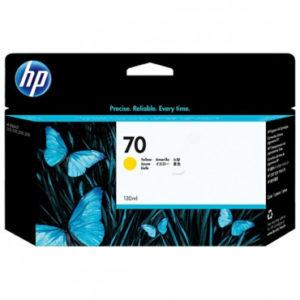 HP Tinta 70 de 130 ml Amarillo C9454A