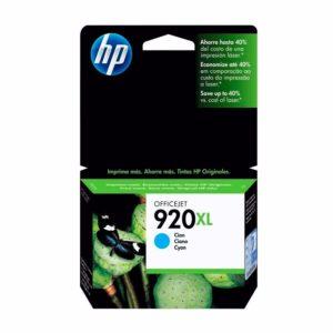 HP Tinta 920XL Cyan CD972AL
