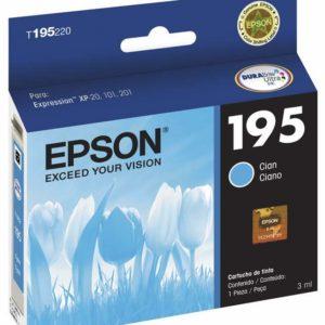 Epson Tinta 195 Cyan T195220-AL