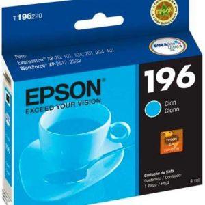 Epson Tinta 196 Cyan T196220-AL