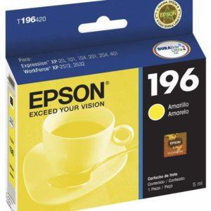 Epson Tinta 196 Amarilla T196420-AL
