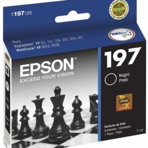 Epson Tinta 197 Negra Alta Capacidad T197120-AL