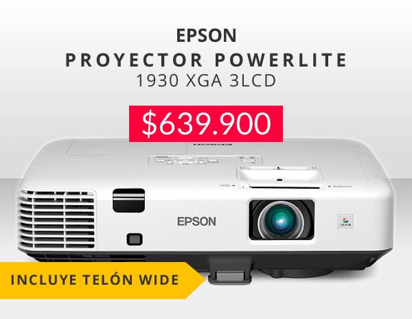 proyector epson powerlite 1930 oferta