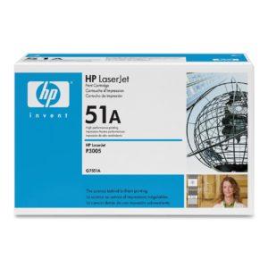 HP Toner 51A Negro Q7551A