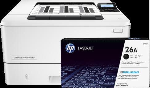 HP Pack Impresora M402dne C5J91A + HP Toner CF226A
