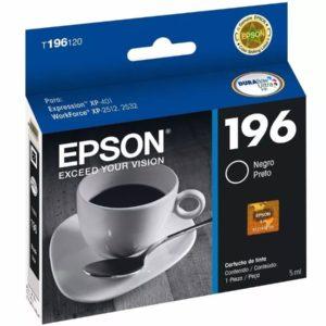 Epson Tinta 196 Negra T196120-AL