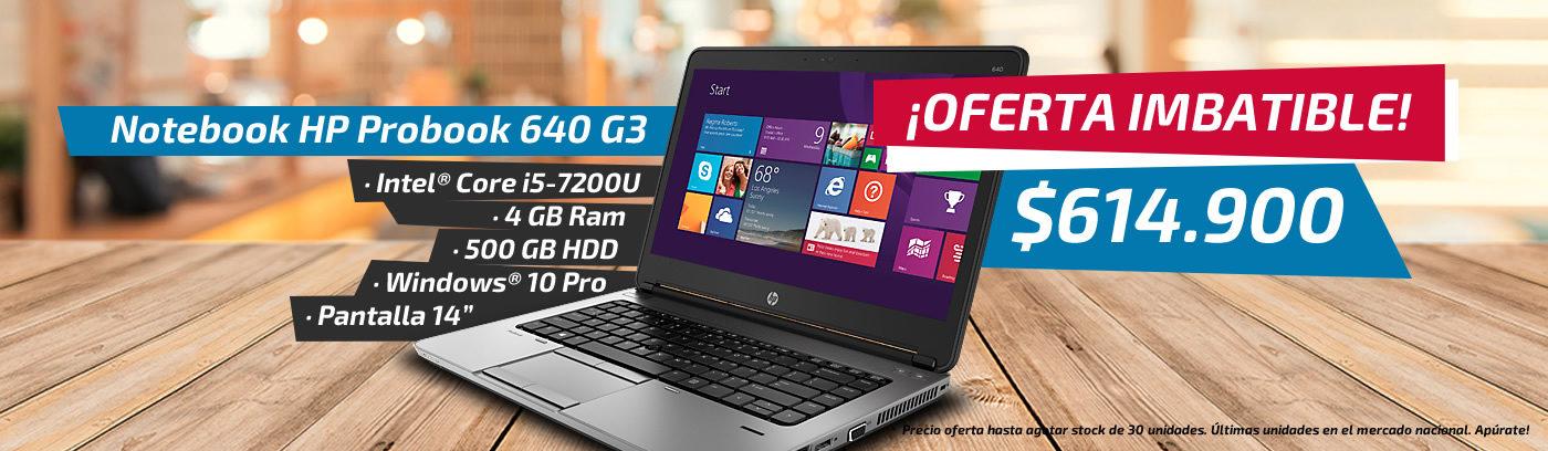 Notebook HP 640 G3