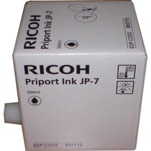Ricoh Tinta Negra Priport JP-7 817219