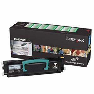 Lexmark Tóner E450 Negro Alto Rendimiento E450H11L