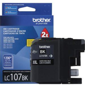 BROTHER Tinta Negra LC-107BK