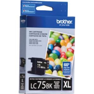 BROTHER Tinta Negra LC-75BK