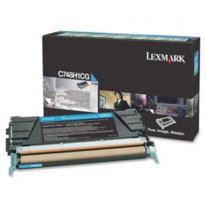Lexmark Toner C748 Cian C748H1CG